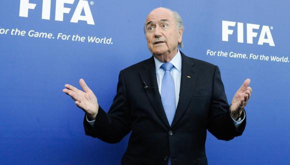 'CR7' criticó a Blatter. (AFP)