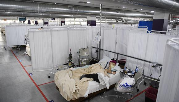 Estados Unidos alcanzó este domingo 28′129.860 casos confirmados de coronavirus. (Foto: Patrick T. FALLON / AFP)