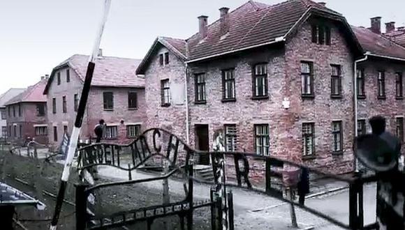 Auschwitz resume el horror del Holocausto. (Captura BBC)