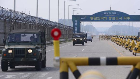 Primer acercamiento en Corea. (Reuters)