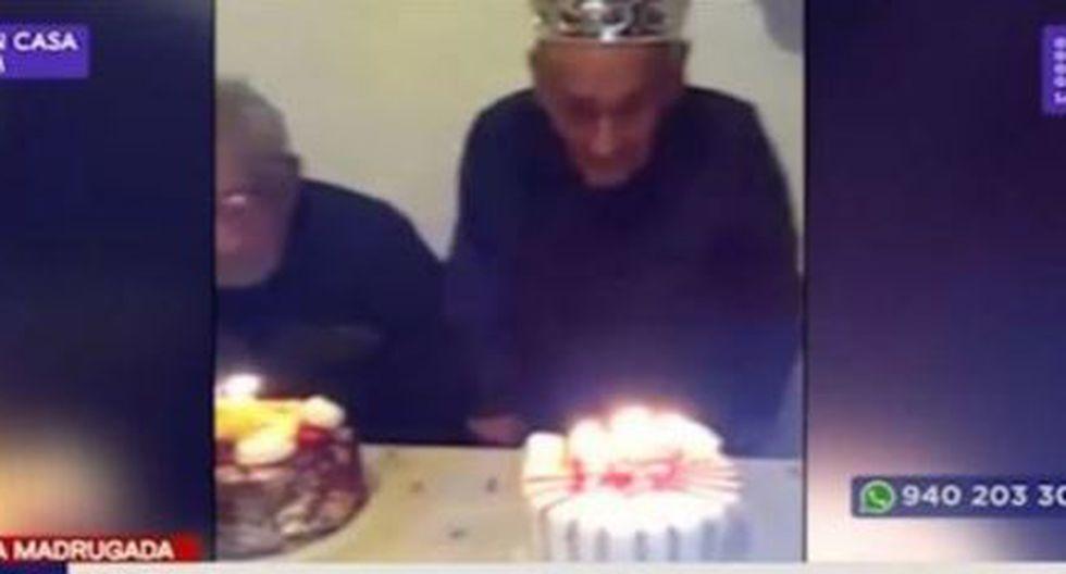 Anciano de 101 años murió durante un incendio en el cuarto donde residía (Video: Latina)