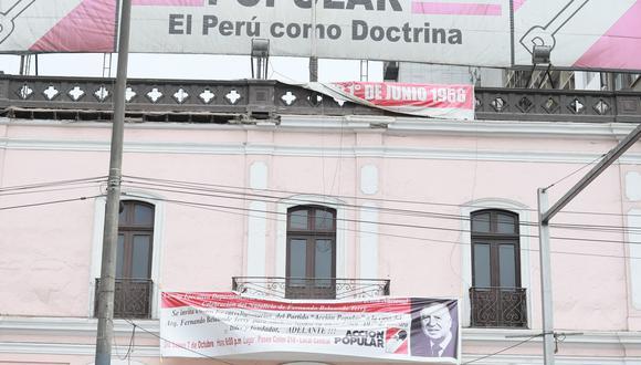 El partido Acción Popular definirá su posición este sábado 15 de mayo, de cara a la segunda vuelta de las Elecciones 2021. (Foto: GEC)