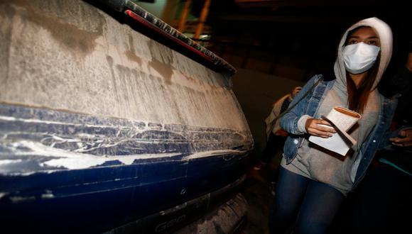 Shirley Arica denunció que fue maltratada por agentes que intervinieron fiesta en San Miguel. (Foto: Andrés Paredes/GEC)