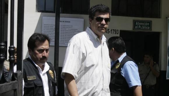 EN FALTA. Scaccabarrozi fue llevado al Ministerio Público. (Alberto Orbegoso)