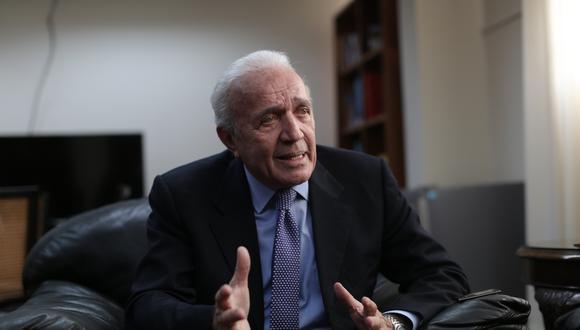 Lombardi sostuvo que Daniel Salaverry ha tenido una labor eficaz al frente de la Mesa Directiva. (Foto: GEC/ Anthony Niño de Guzmán)