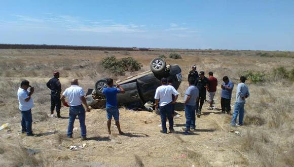 Alcalde Francisco Ayala falleció horas después del accidente. (PANORAMA COLÁN)