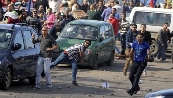 Protesta. Manifestaciones similares a las de la era Mubarak.