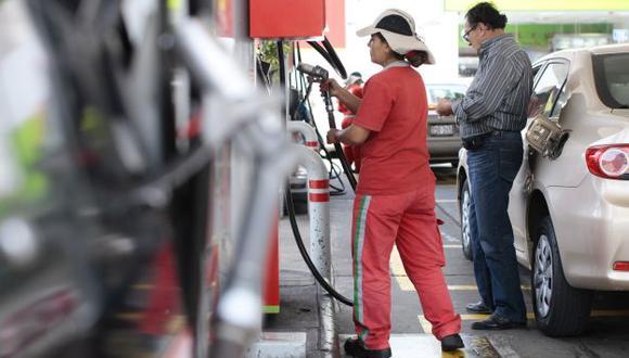 Precios de gasolinas y GLP bajan entre 0.5% y 2.3%. (USI)