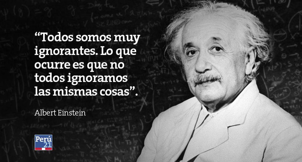 Albert Einstein 15 Frases Del Genio A 60 Años De Su Muerte