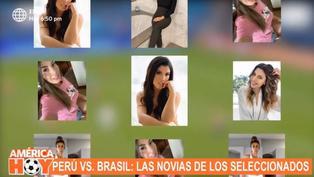 Descubre a las bellas novias de los seleccionados peruanos