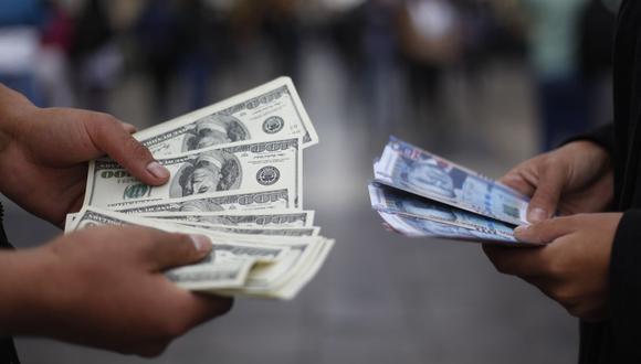 El precio de venta del dólar en los bancos locales oscilaba entre S/ 3.620 y S/ 3.691 este martes. (Foto: GEC)