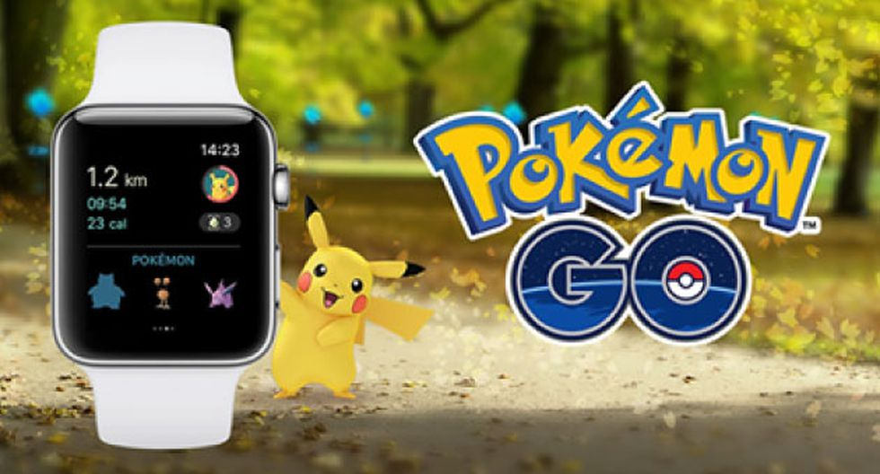 Pokémon Go: Ya está disponible en el Apple Watch. (Pokémon)