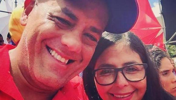 Jorge Jesús Rodríguez Gómez (i) es el hermano de la vicepresidenta de Venezuela Delcy Rodríguez (d). (Foto: Instagram: @jorgerodriguezccs)