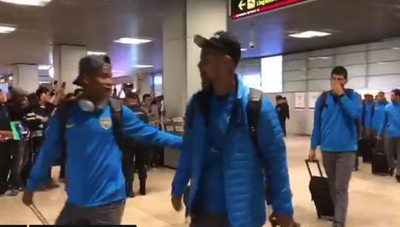Así fue la llegada de Boca Juniors a Madrid para la final de la Copa Libertadores. (Captura: Boca Juniors)