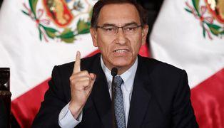 """Vizcarra calificó de """"normal """" la caída en su popularidad"""
