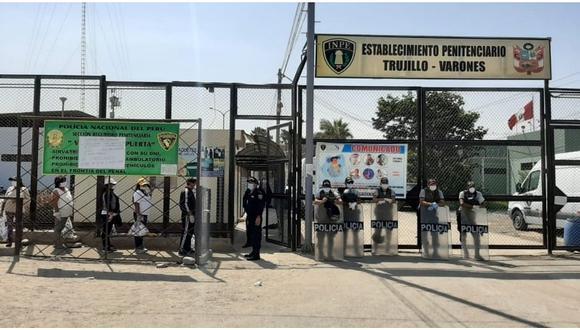 El alcaide del penal de Trujillo era uno de los 13 trabajadores penitenciarios que presentaban los síntomas del COVID-19. (Foto: GEC)