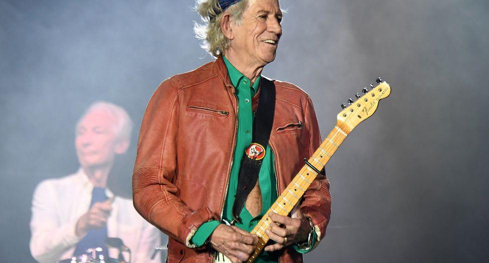 """La primera guitarra de los Rolling Stones manifiesta que es """"hora"""" de dejar el alcohol. (Foto: AFP)"""