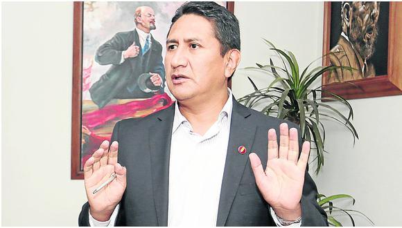 Vladimir Cerrón, ex gobernador regional de Vladimir Cerrón.