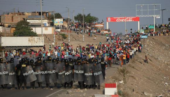 Las protestas contra Tía María fueron continuas a lo largo del 2019. (GEC)