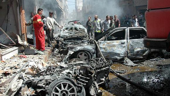 Siria: Al menos 51 muertos por atentados en Homs y Damasco. (Reuters)