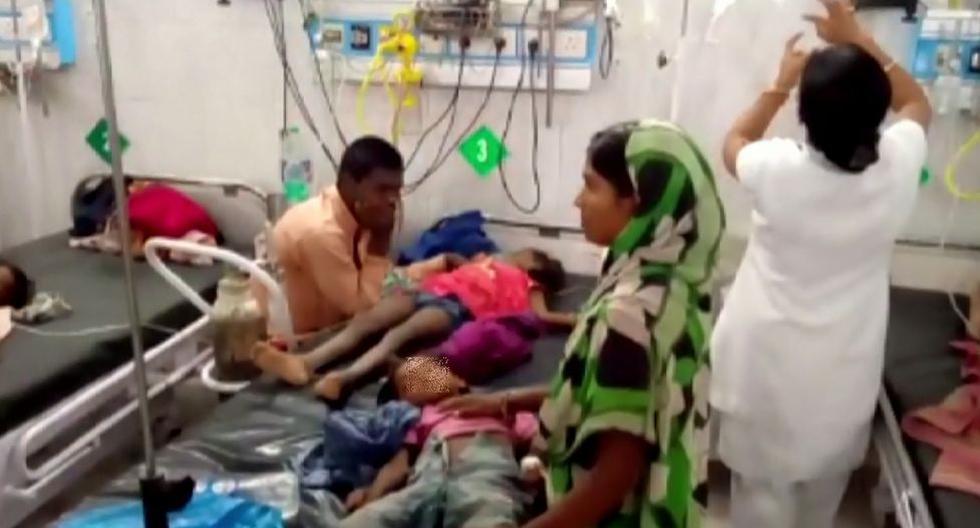 India: Más de 100 niños murieron a causa de un virus que ataca al cerebro. (AFP)