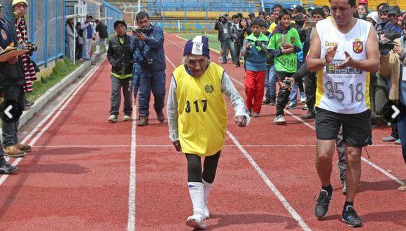 Un ejemplo para los deportistas. (Andina)