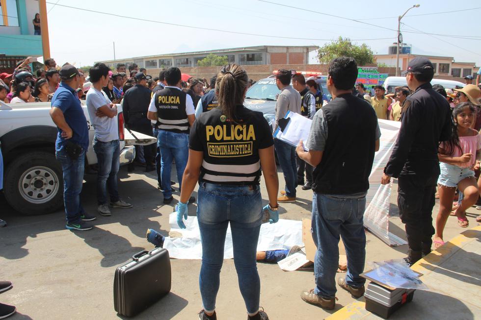 En la provincia de Trujillo se han perpetrado 60 asesinatos de enero a agosto de este año.
