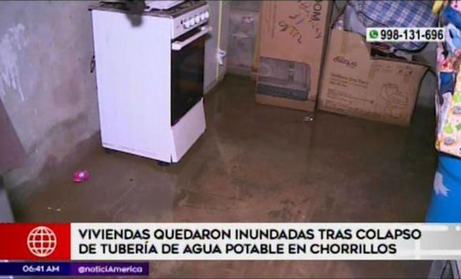 Aniego ocurrió en la calle 23 de la urbanización San Genaro. (Captura: América Noticias)