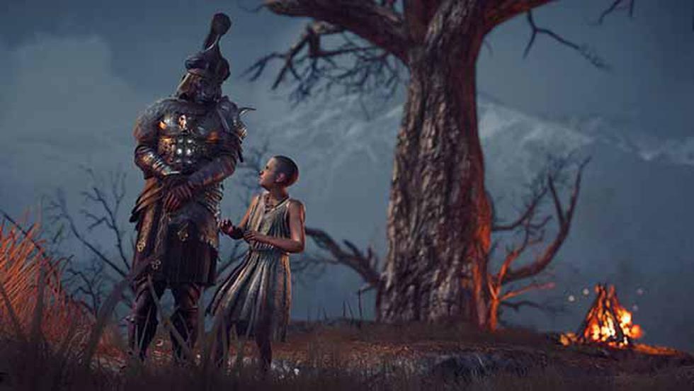 Gracias a este primer episodio, podremos conocer a Darius, el legendario primer usuario de la Hoja Oculta.
