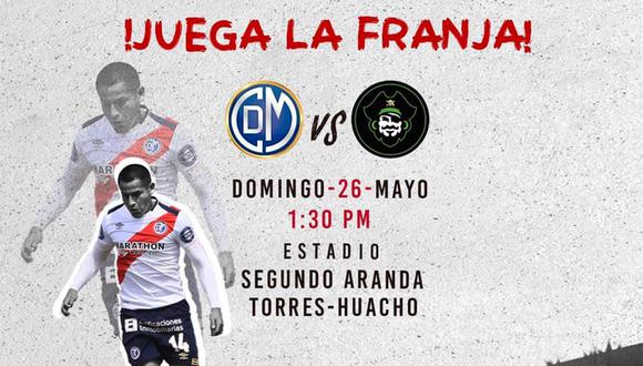 Municipal recibe a Pirata FC en Huacho por la Liga 1. (Foto: Deportivo Municipal)