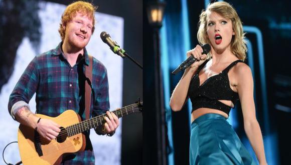 Taylor Swift y Ed Sheeran encabezan nominaciones de los premios MTV. (USI)