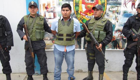 Escape a plena luz. 'Picoro' se fugó solo horas después de haber sido presentado por la Policía. (USI)
