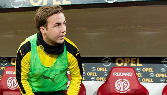 Mario Götze, pese a tener 25 años, ha sufrido varios inconvenientes en su carrera futbolística. (Gettyimages)