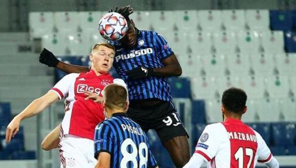 Violencia previo al duelo entre Atalanta y Ajax en Champions League.