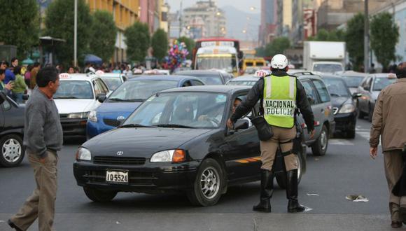 Municipalidad de Lima informó sobre los desvíos vehiculares en las calles del Centro de Lima por la procesión del Señor de los Milagros. (Foto: El Comercio)