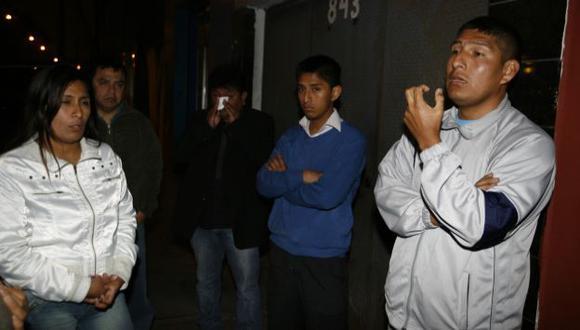 ESPERAN JUSTICIA. Familiares piden sanción para los responsables. (USI)