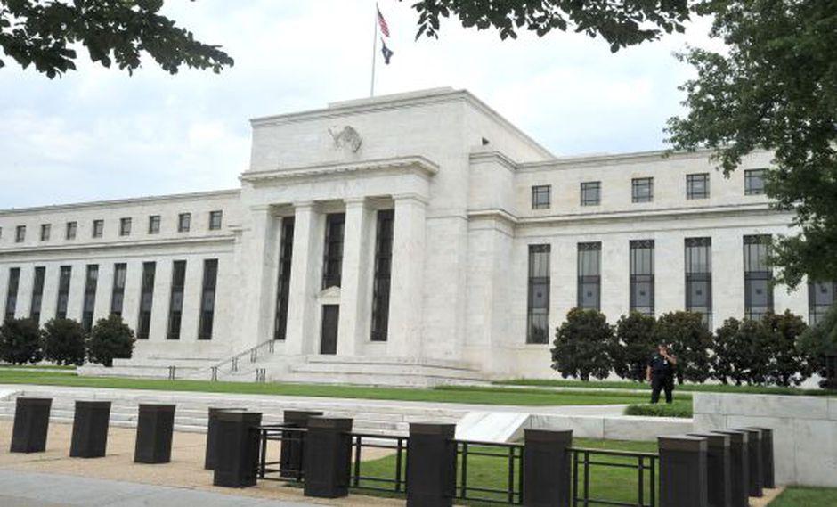 Fachada del edificio de la FED en Washington DC. (AFP)
