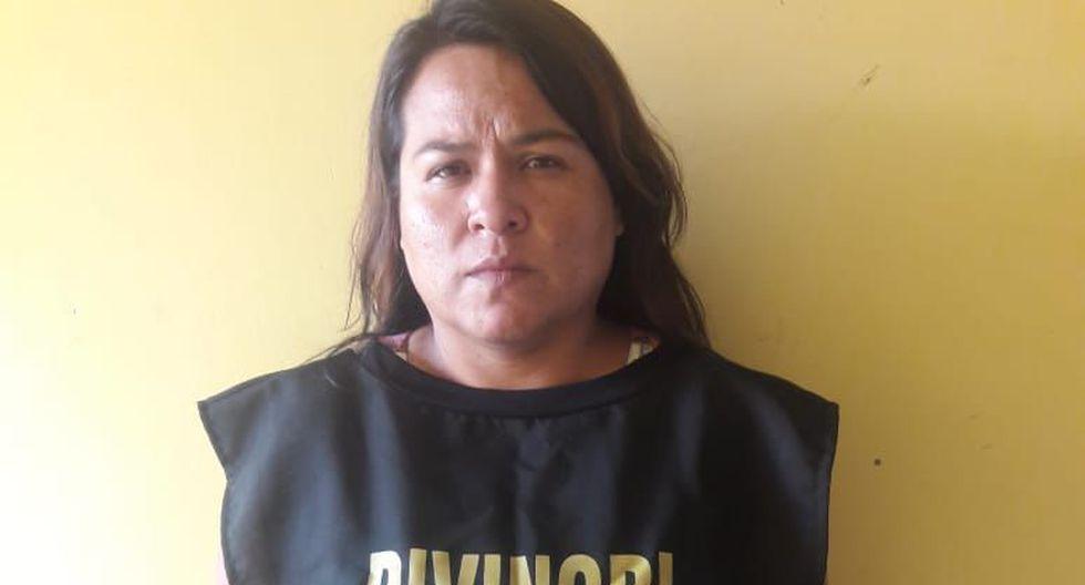 La mujer decidió confesar luego de dos días de guardar silencio. (Foto: PNP)