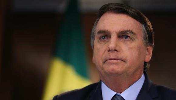 Fotografía del 16 de setiembre de 2020 cedida por el gobierno de Brasil que muestra al presidente Jair Bolsonaro. (EFE/Marcos Correa/Cortesía Gobierno de Brasil).
