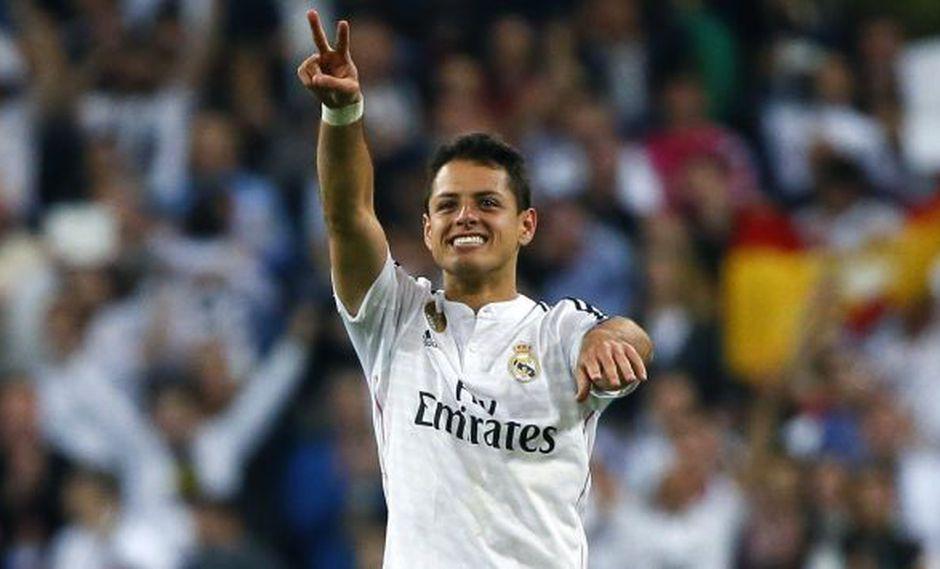 Real Madrid tiene hasta el 30 de abril la exclusividad de compra de 'Chicharito' Hernández. (EFE)