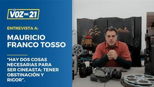 Mauricio Franco Tosso, director de la galardonada película peruana 'Samichay'