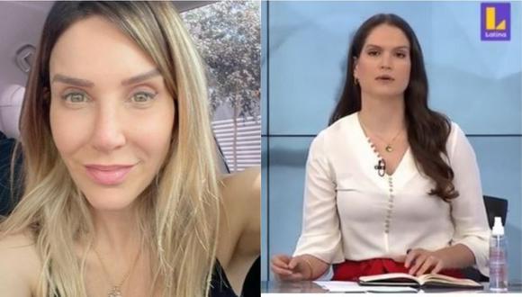 Lorena Álvarez se solidariza con Juliana Oxenford. (Foto: @julianaoxenford.oficial/captura de video)