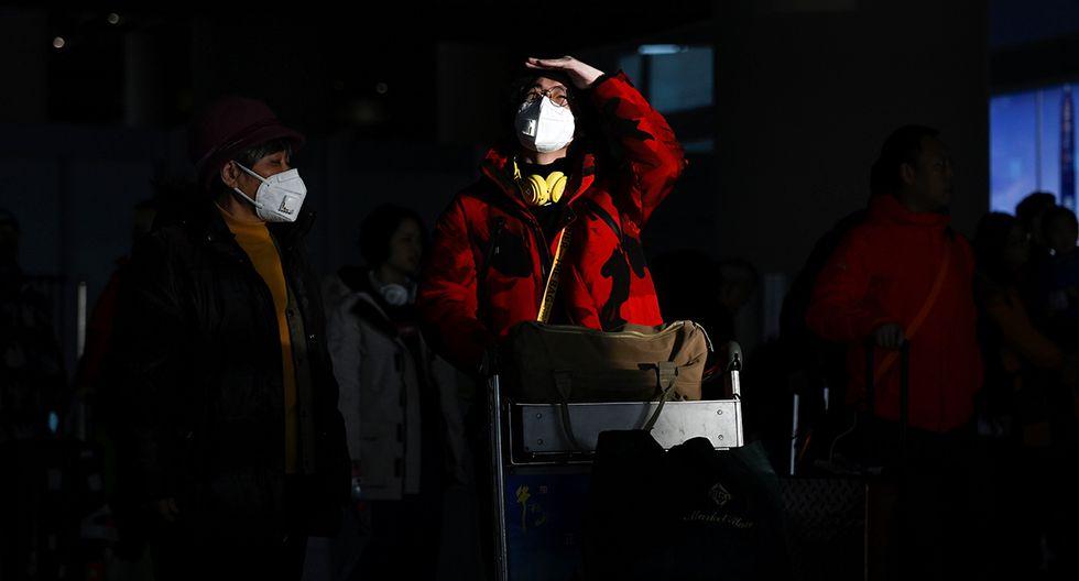 Existen temores del Gobierno de un brote importante de este virus cuando millones comienzan a viajar para el Año Nuevo chino. (Foto: AFP)
