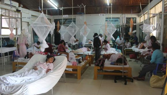 En las últimas cuatro semanas se ha incrementado a ocho el número de personas fallecidas a causa del dengue en Madre De Dios. (Foto: Manuel Calloquispe)
