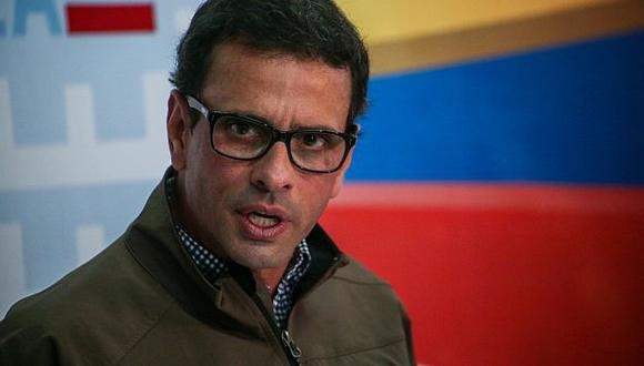 Venezuela: Denuncian a Henrique Capriles ante Fiscalía por caso Odebrecht. (EFE)
