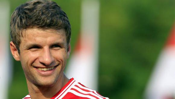 Müller es considerado uno de los mejores jugadores del Mundial. (Reuters)