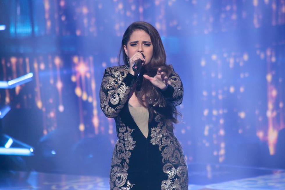 """""""El artista del año"""" terminó y Sandra Muente fue la ganadora indiscutible de la competencia de baile y canto. (Fotos: Twitter)"""
