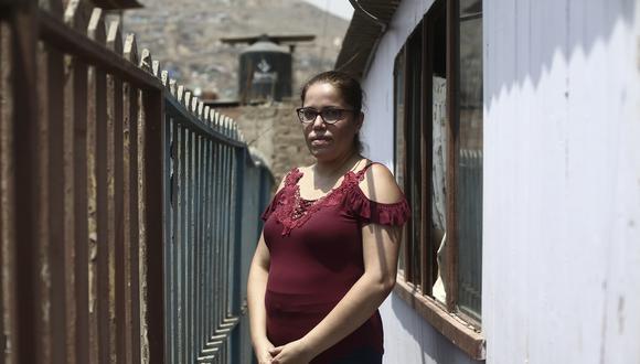 Jacqueline Torres es presidenta de la olla comunitaria Las Casuarinas en Carabayllo.