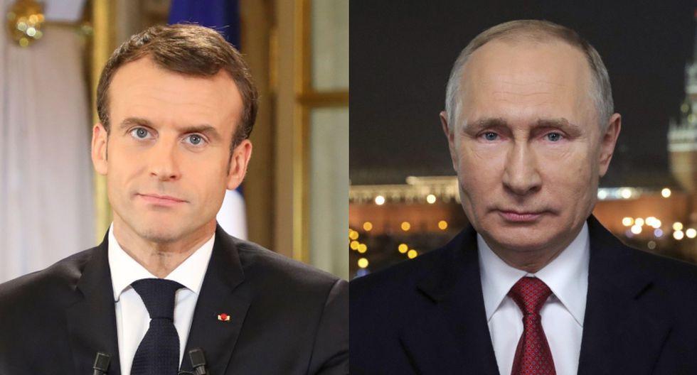 Para Macron, deben prevalecer los acuerdos de la cumbre de Estambul, que tuvo lugar en octubre entre los líderes de Francia, Alemania, Turquía y Rusia. (Foto: AFP / EFE)