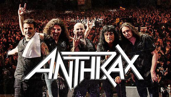 Anthrax pertenece el Big Four del thrash metal junto con Metallica, Megadeth y Slayer. (Facebook Anthrax)